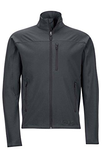Marmot Tempo Men's Softshell Jacket, Jet Black, Medium (Mens Jackets Outerwear Marmot)