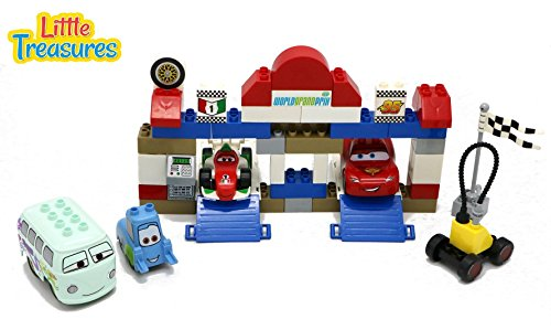 Little Treasures Madness Racing Car Toy Building block 59...
