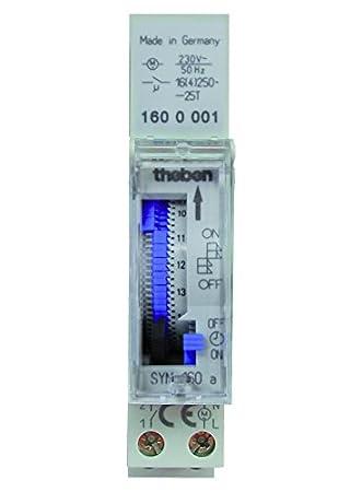 Theben SYN 160 A Segment-Schaltuhr analog: Amazon.de: Baumarkt