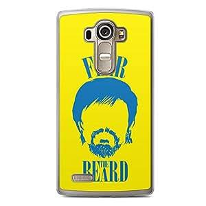 Manny Pacquiao LG G4 Transparent Edge Case - Fear the Beard