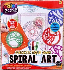 Create Your Own Spiral (Growing Spiral)