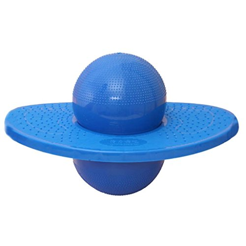 HOMEE-Pogo-Ball-Fun-Hopper-Sports-Balance-Platform-Fitness-Ball-for-Coordination-Exercises-Blue-For-Both-Kids-and-Adults