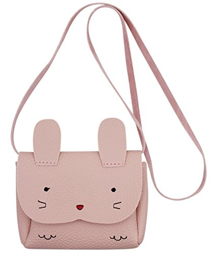 Aibearty Little Girl Purse Cute Rabbit Shoulder Bag Mini Crossbody Satchel ()