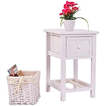 Amazon Com Eine Shop Nightstand End Table Country Style