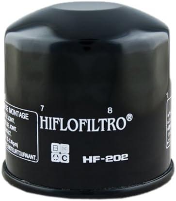 Hiflofiltro HF137-2 2 Pack Premium Oil Filter 2 Pack
