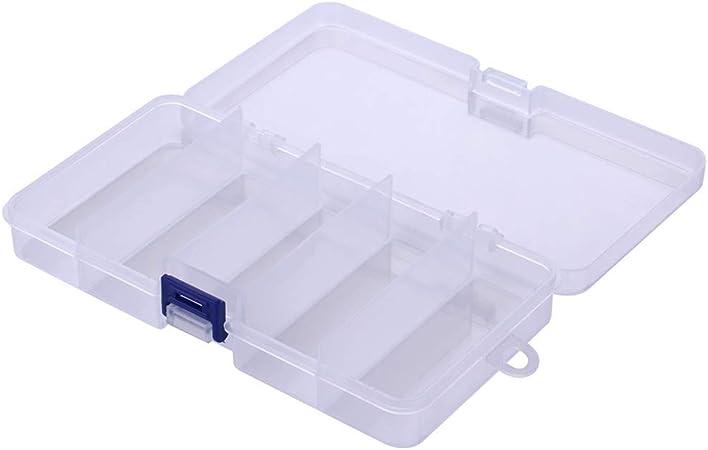 Fdit Boîtier à Outils en Plastique avec 9 Compartiments à Deux Couches...