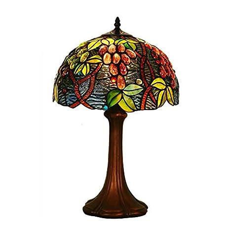 Lámpara de mesa Nórdico antiguo Art Decó Turco Mosaico ...