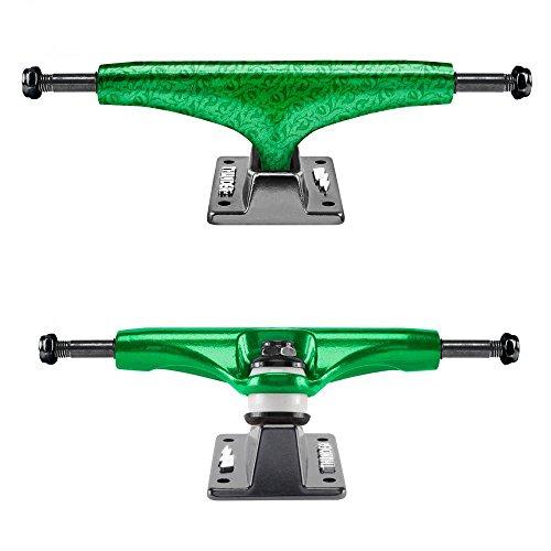 Thunder 147 Chroma LTD Hollow Light Skateboard Trucks Green 8.0'' Axle (Set of 2) by Thunder