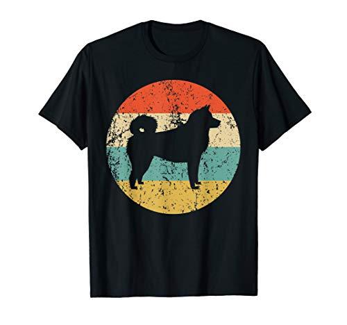 Akita Shirt - Vintage Retro Akita Inu Dog T-Shirt ()
