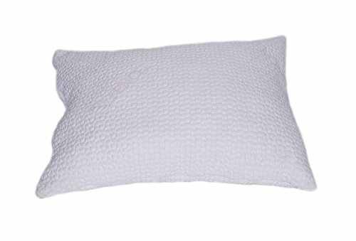 V&R Natural Queen Pillow - Tencel Cover Latex Fill (Blend of Latex Noodles & RE-GEN POLY 90%,10%)
