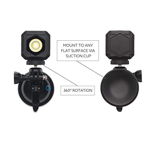 (LUME CUBE - Lighting Kit for Video Conferencing, LED Light Kit for Webcams, Zoom, Skype, FaceTime, Live Streaming, Business Calls on Laptops, Phones, Tablets)