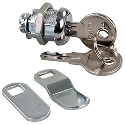 "JR Products 00305 Standard Compartment Door Key Lock - 5/8"": Automotive"
