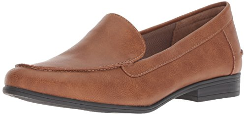 LifeStride Women's Margot Loafer, tan, 9 W US ()