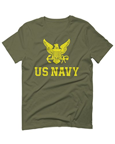 US Navy Seal United States of America Combat Soldier for Men T Shirt (Olive Green, X-Large) - United States Navy Seal Seals
