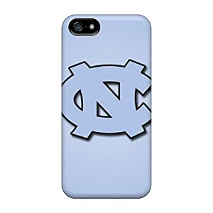 Bumper Hard Phone Case For Iphone 5/5s (Kfs4437uBOp) Provide Private Custom Nice North Carolina Tar Heels Pictures