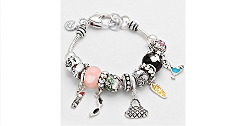 Brighton Bay Party in the Summer Multi Beaded Bracelet (Party Shops Brighton)