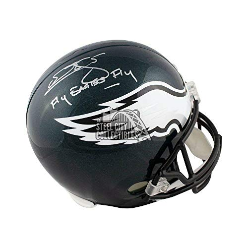 Donovan McNabb Autographed Helmet - Fly Fly Full Size BAS - Beckett Authentication - Autographed NFL -