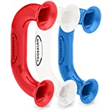 (3 Pack - Red | White | Blue) Toobaloo Auditory Feedback Phone, Accelerate reading fluency, comprehension and pronunciation with a reading phone