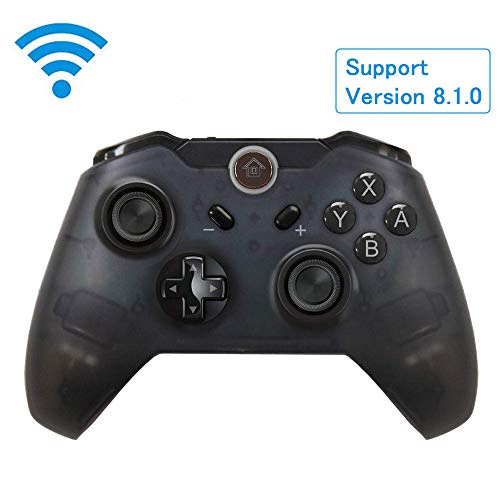 Switch Pro Controller Wireless Pro Game Controller with Dual Shock Gyro Axis Function for Nintendo Switch Console (New Axis)
