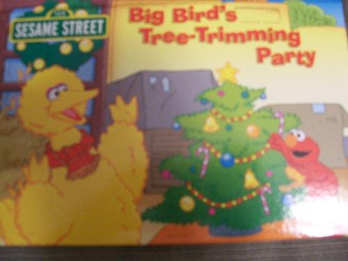 Big Bird's Tree-Trimming Party (Sesame Street Pop Up Christmas Books) ()