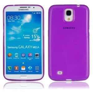 TPU Protective Case with Inner Matting Cover for Samsung i9200 Purple