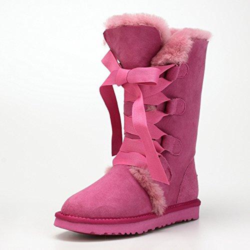 40 Tacchi Alla Pink Stivali Da Moda Donna Xie Scarpe Alti vqqwC6g