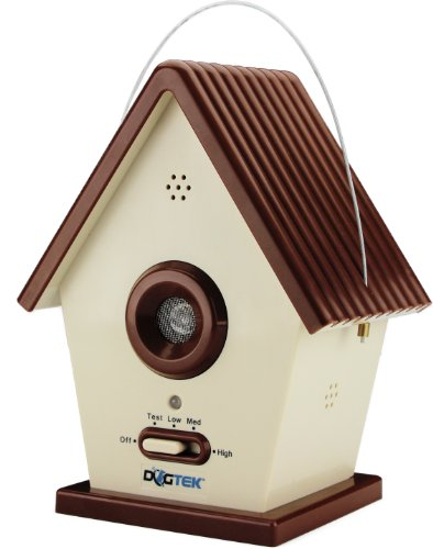 Dogtek Sonic Bird House Bark Control Outdoor/Indoor
