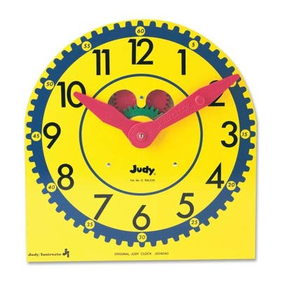 (Carson-Dellosa Judy Clock - Theme/Subject: Time - Skill Learning: Time Telling)