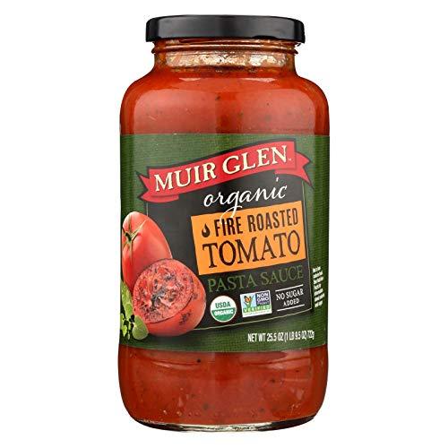 - Muir Glen Organic Fire Roasted Tomato Pasta Sauce, 25.5 Ounce - 12 per case.