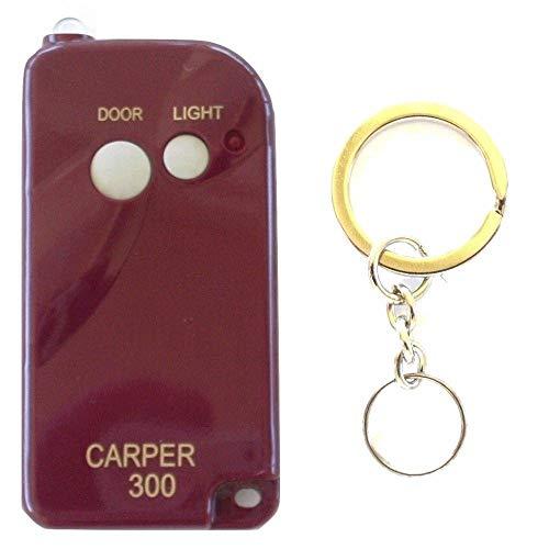 Carper CX-300 1-Button Keychain Remote Multi-Code 3060 3070 3089 Comp GO-00-010