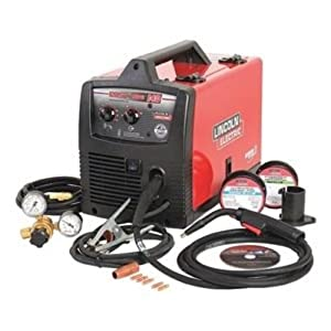 LINCOLN ELECTRIC CO K2697-1 Easy MIG 140 Wire Feed Welder, by Lincoln Electric Co.