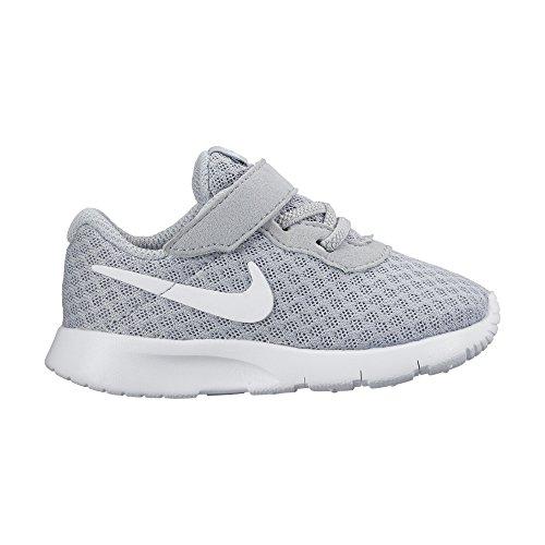 Nike Boy's Tanjun (TDV) Running Shoes (4 Toddler M, Wolf Grey/White-White)