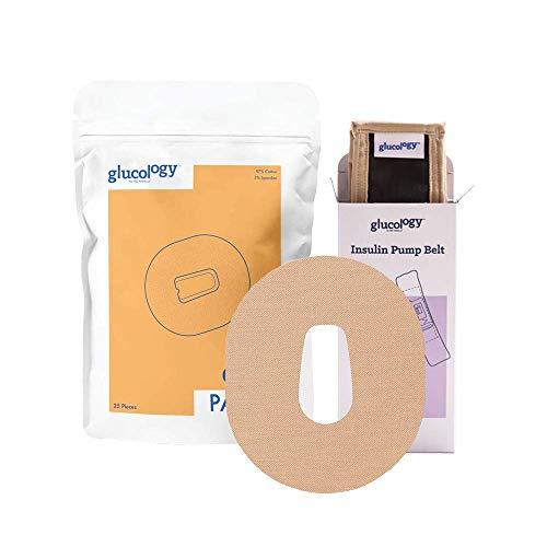 Beige Belts + Beige CGM Patches (Dexcom G6)