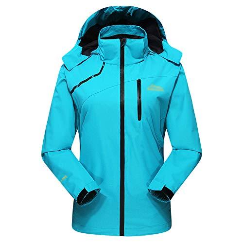 Montagne Du D'alpinisme Les D'extérieur À Chaud Pour Vent Cyclistes Camping Veste Blue L'épreuve Vêtements De La Capuche TtSqq