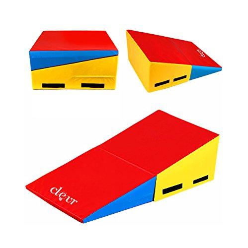 48 Quot X24 Quot X14 Quot Folding Gymnastics Incline Mat Cheese Wedge