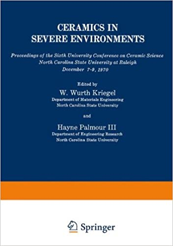Ceramics in Severe Environments (Materials Science Research