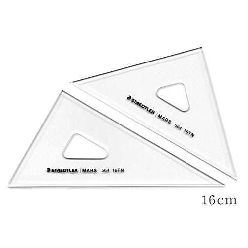 - Staedtler drafting triangle ruler Mars 564 16 TN 16cm