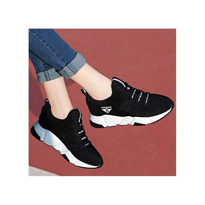 Ajunr Donna Alla Moda Nuovo Autunno Le Scarpe Sportive Ricreative Delle Da Corsa Respirabile Stile Coreano Harajuku