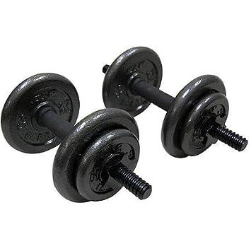 Gold s Gym ajustable fundido juego de mancuernas, 40 kg