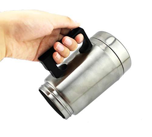 Taza del calentador de agua, coche la taza calefacción 12V, caldera eléctrica aislada al vacío Calefacción café...