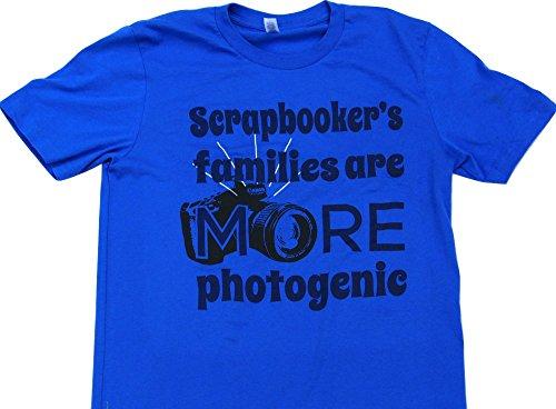 Scrapbook Treasures Inc Scrapbookers Families Are More Photogenic (Blue, Large) Family Treasures Scrapbooking