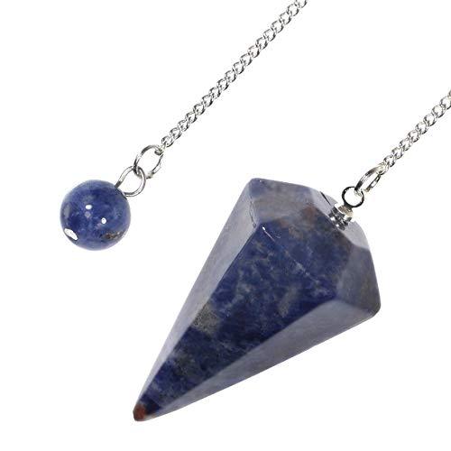 (Sodalite Crystal Pendulum)