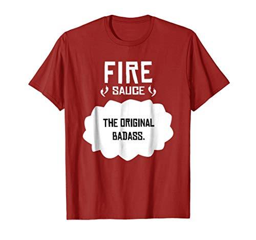 Tacos Fire T-Shirt Sauce