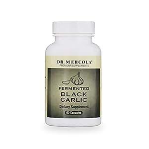 Dr. Mercola Fermented Black Garlic, 0.5 Ounce