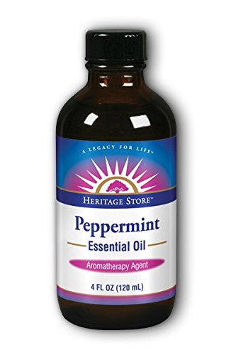 Heritage Store Heritage Store Peppermint Essential Oil, 4 Fluid Ounce For Sale