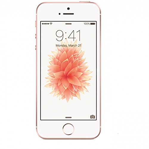 Amazon Com Apple Iphone Se At T 16gb Rose Gold Refurbished