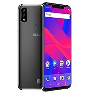 "BLU VIVO XI+ - 6.2"" Full HD+ Display Smartphone, 128GB+6GB RAM, AI Dual Cameras"