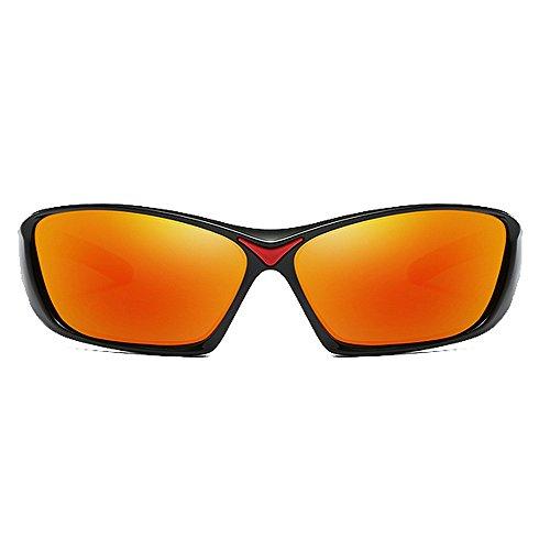 Polarisées De Lunettes Soleil Lunettes Lunettes Orange Sport LBY Soleil Homme de pour Gray Couleur De De Couleur Lunettes Soleil Cinéma qI5wz