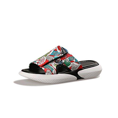 de 6 0 Chaussures des d'été Chaussons Taille Sandales Sport de Pantoufles Porter Femme Mode awq15Tq
