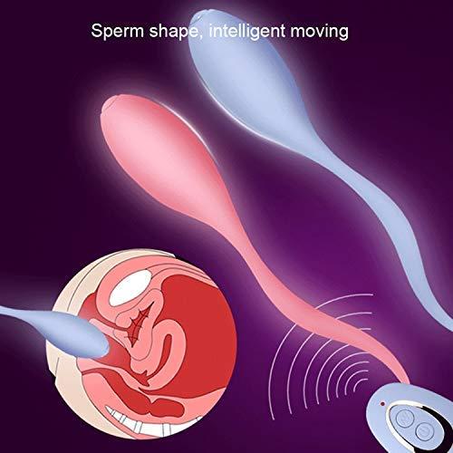 Ví-bratórs Sharing Vibrating Egg Wireless Remote Control Ví-bratór Vagina Balls Female M-asturbator Adult Sex-Toys for Women,Double Vibrating Egg T-Shirt by RTSE T-SHIRT (Image #7)
